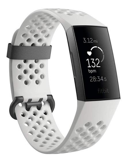 Fitbit Charge 3 White - Pulseiras P / G Incluída