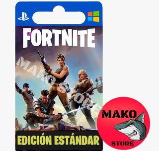 Fortnite Salvar Al Mundo: Pack Estandar - Pc / Ps4 / Xbox