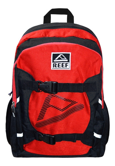 Mochila Reef Rf 711 Porta Skate 18 Litros Original Roja