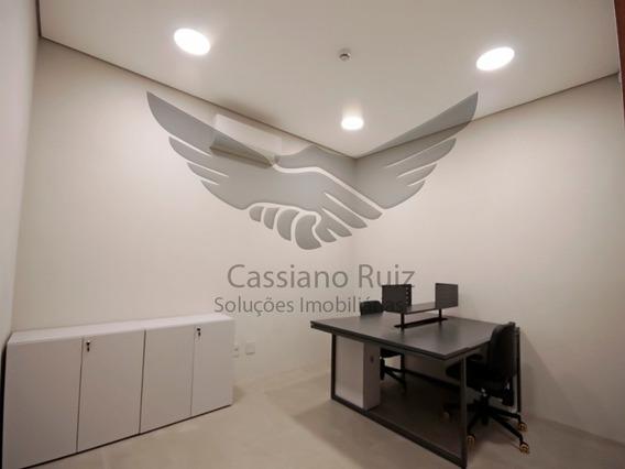 Sala Comercial Mobiliada - 16 M² - Com Ar Condicionado E Wifi - Próximo Ao Centro De Votorantim - Bandeiras Centro Empresarial - Sa00006 - 34689621