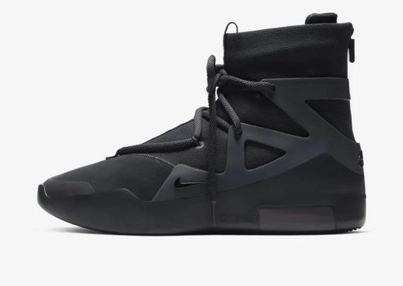 Tênis Nike Air Fear Of God 1 Noir (all Black)