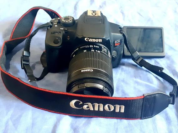 Kit Câmera Canon Profissional Completo + Tripé Para Vídeo