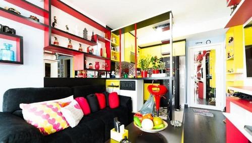 Imagem 1 de 19 de Apartamento Add Nova Berrini - Mobiliado - À Venda Por R$750.000,00 - Chác. Santo Antônio - São Paulo/sp - Ap14637