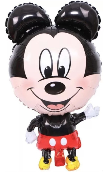 Globo Metálico Mickey - 5 Pack - Ratón Mouse