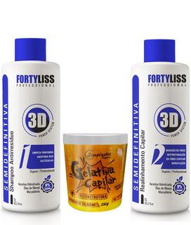 Progressiva Organica Forty Lisss + Gelatina 250grs