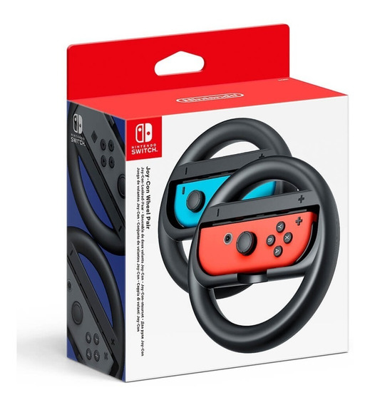 Nintendo Switch Joy Con Wheel Set Com 2 Pack