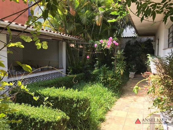 Casa Com 3 Dormitórios Para Alugar, 550 M² Por R$ 10.000/mês - Centro - São Bernardo Do Campo/sp - Ca0476