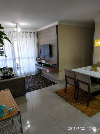 Apartamento Com 2 Dormitórios À Venda, 65 M² Por R$ 479.000,00 - Cambuci - São Paulo/sp - Ap4163
