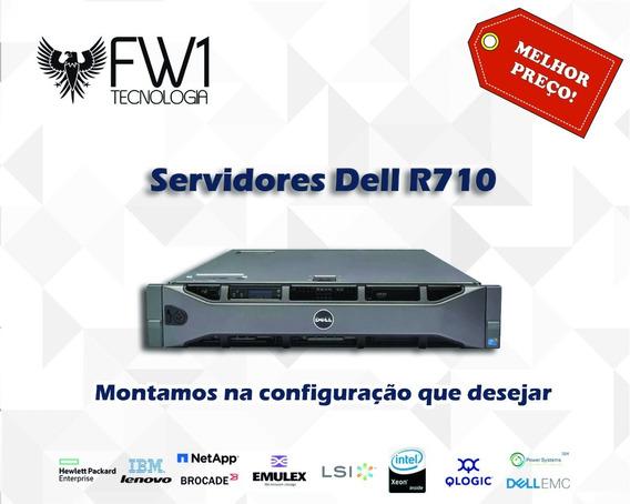 Servidor Dell R710 Montamos A Configuração Que Desejar