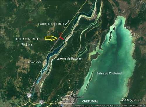 Terreno En Venta Bacalar Q.roo Acceso A Laguna, Muy Cerca De Agave Blue. Oportunidad Para Desarrolla