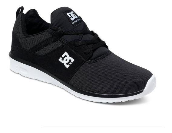 Tenis Para Caballero Dc Shoes Heathrow Negro Blanco