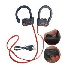 Fone De Ouvido Bluetooth Esportivo Esporte Corrida Gancho