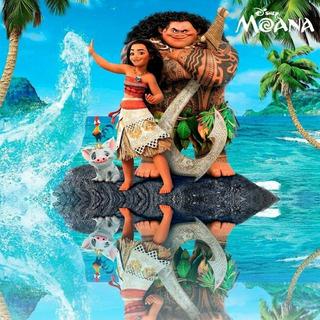 Posters Afiches Moana Disney Impresión En Banner O Vinil