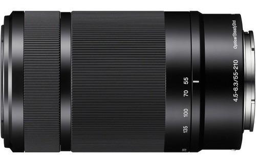 Lente Sony Sel 55~210mm F4.5-6.3 Oss E-mount Nex, A6300