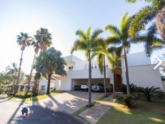 Casa Moderna Com Fino Acabamento, Amplos Cômodos, Em Um Dos Melhores Condomínios De Campinas (bougainville). - Ca00249 - 32749801
