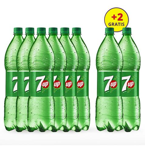 Imagen 1 de 2 de 7up De Botella 2 Lts. 6 Unidades