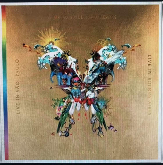 Cd Coldplay Live In Buenos Aires San Pablo 2cds+2dvd Open M
