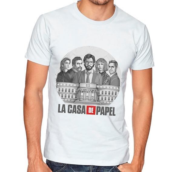 Camiseta La Casa De Papel | Séries Netflix