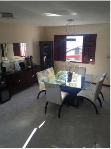 Imagem 1 de 14 de Casa Triplex Em Condomínio Com 3 Suítes 4 Vagas - 3604