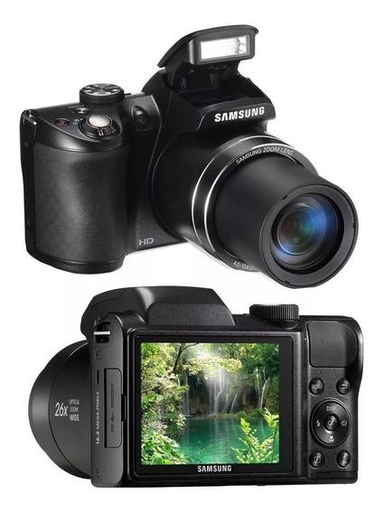 Câmera Fotográfica Semi Profissional -samsung Wb100