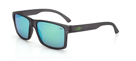 Oculos Sol Mormaii Lagos M0074d5985 Fume Lt Verde Espelhada