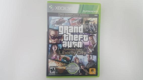 Jogo Gta 4 & Episode From Liberty City - Xbox 360 - Usado