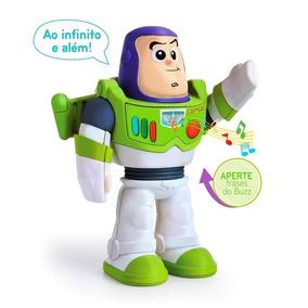 Toy Story - Boneco Buzz Lightyear Falante Disney - Elka 1042