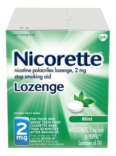 Nicorette Pastillas De Nicotina Ayuda Dejar De Fumar Menta