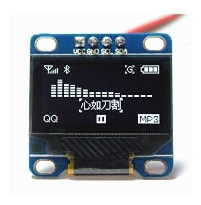 Display Oled 0.96 I2c Fundo Azul E Amarelo Arduino Pic Esp