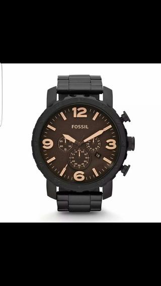 Reloj Fossil Jr1356 Negro Hombre Original Envio Inmediato