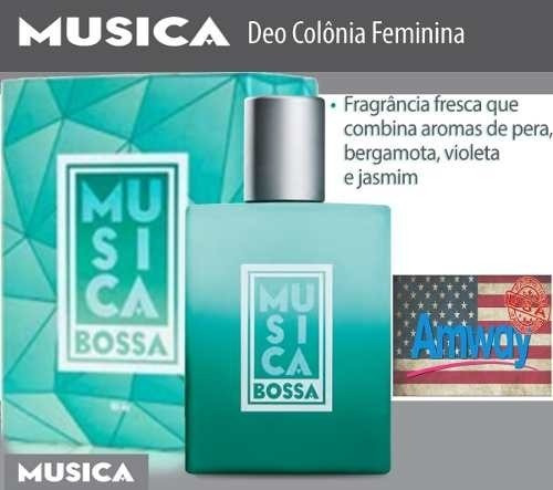 Música Bossa Perfume Feminino 95 Ml Amway Eua