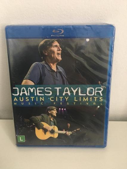 Blu Ray Show James Taylor Austin City - Lacrado - Em Estoque