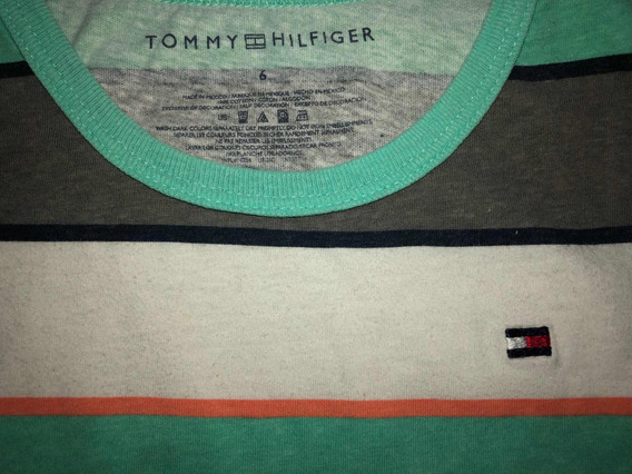 Musculosa Niño Tommy Hilfiger Importada Talle 6