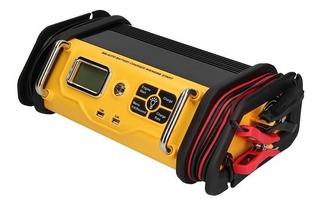 Cargador Arrancador De Bateria 30-75 Amp Con Linterna Taiwan