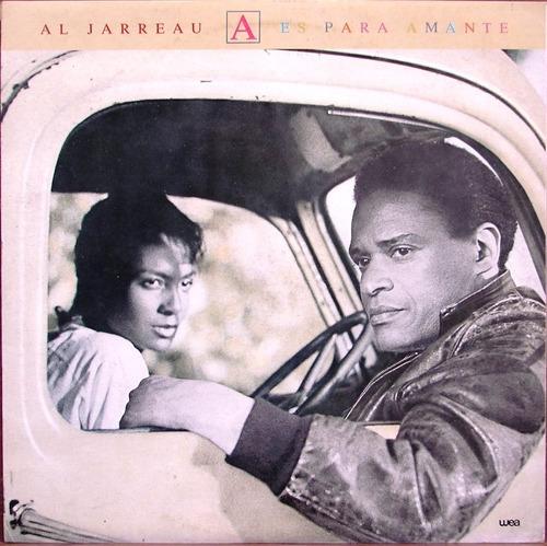 Al Jarreau - A Es Para Amante - Lp Año 1986 - Soul
