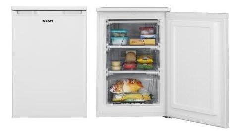 Freezer Vertical Siam Cv090b  80 L Blanco, Bajo Mesada