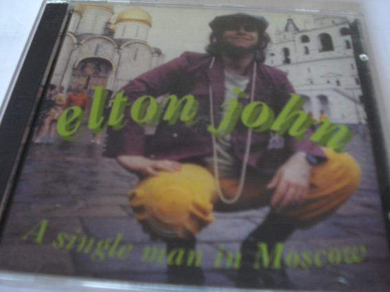 Cd Elton John A Single Man In Moscow