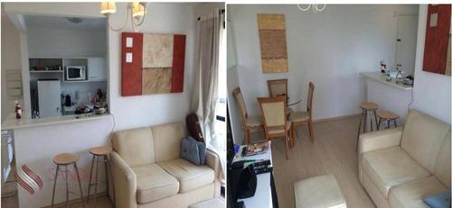 Imagem 1 de 5 de Apartamento Mobiliado Para Alugar Rua Prof Atílio Inocente, Espaço Alpha, 01 Dorm, 40m, Vila Olímpia (lm) - Ap1136