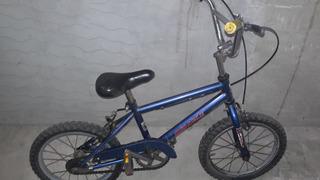 Bicicleta Miracle Usada Rodado 18 En Buen Estado Color Azul