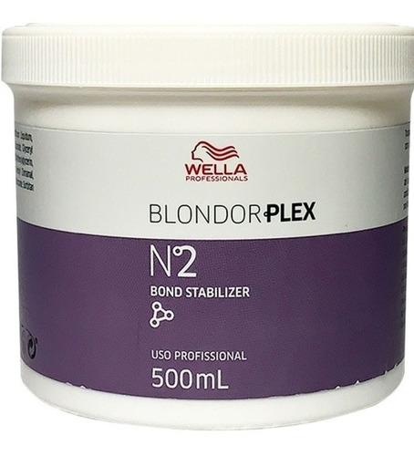 Wella Blondor Plex Nº2 Bond Stabilizer 500ml