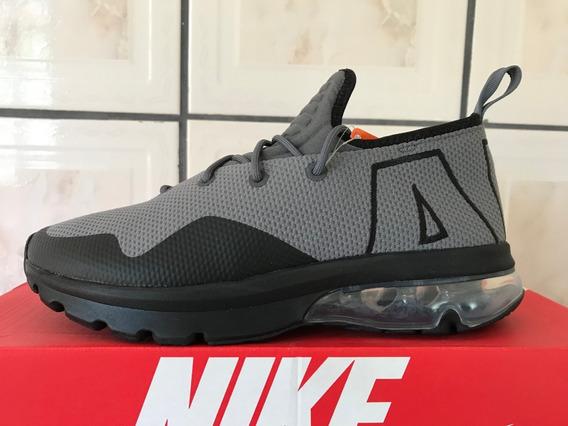Tênis Nike Air Max Flair 50 Cinza Masculino Original