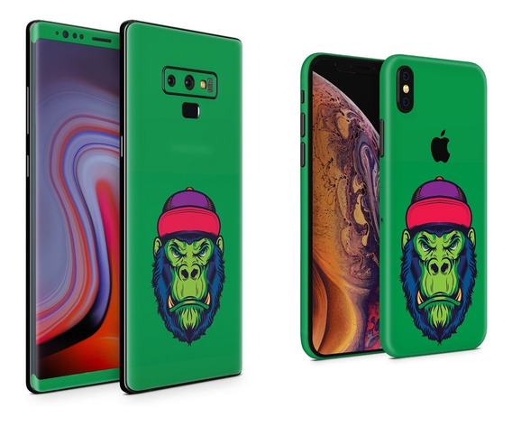 Skin Hipster Gorilla Apple Samsung Huawei Lg Sony Xiaomi Etc