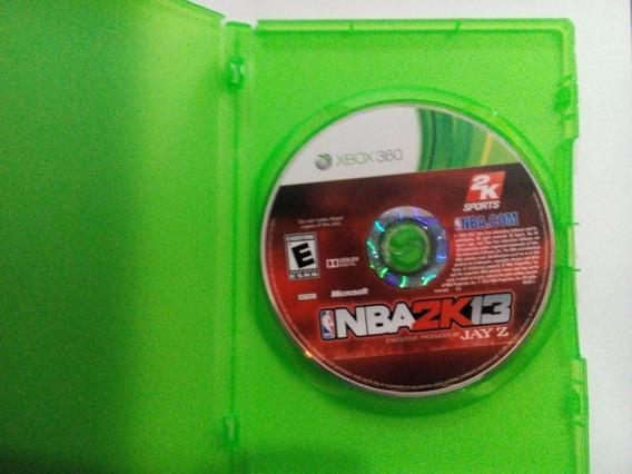 Nba 2k13 P/ Xbox 360 Original Frete Cr $14