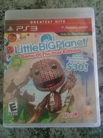 Little Big Planet Edição Jogo Do Ano Midia Fisica Ps3