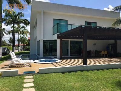 Belíssima Casa Em Condomínio Na Praia Dew Muro Alto (81) 98715-3333 - Ca0220