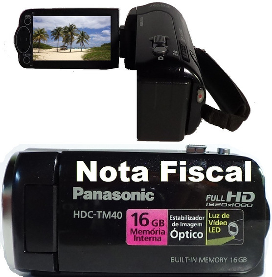 Filmadora Panasonic Hdc Tm40 Full Hd