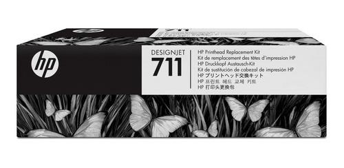 Kit De Cabezales Hp Original 711 (c1q10a) Plotter T120 T520