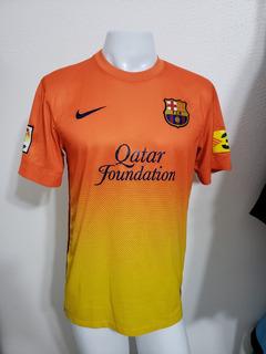 Camisa Barcelona Away 12-13 Pedro 17 Lfp Importada