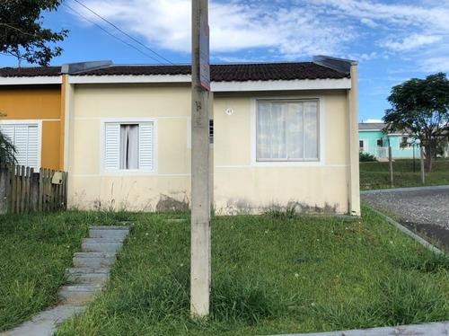 Casa Com 2 Dormitórios À Venda, 40 M² Por R$ 110.000,00 - Ronda - Ponta Grossa/pr - Ca0765
