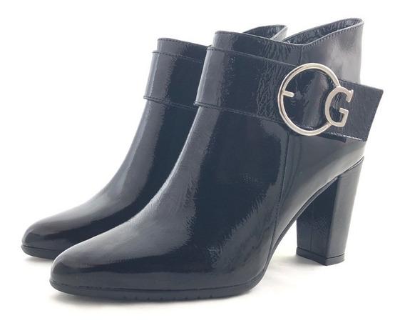 Gravagna 642 Botineta Cuero Elegante El Mercado De Zapatos!